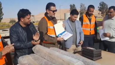 Photo of بلدي بني وليد يكرم المهندسين المشرفين على صيانة صمامات النهر الصناعي بالشويرف