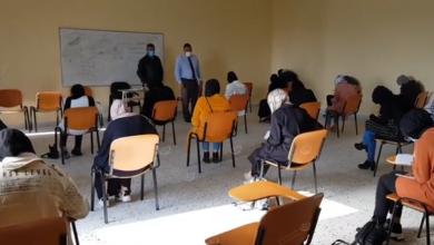 Photo of امتحان تقييمي للطلاب المتقدمين لكلية الطب البشري باجدابيا