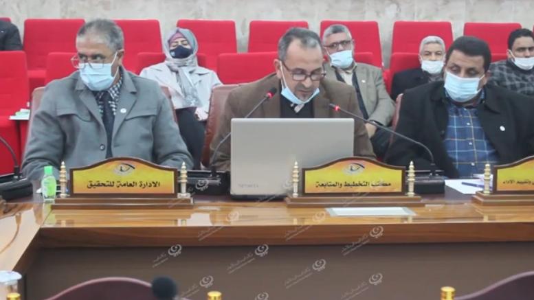Photo of الاجتماع التقابلي الأول لهيئة الرقابة الإدارية لعام 2021 في البيضاء