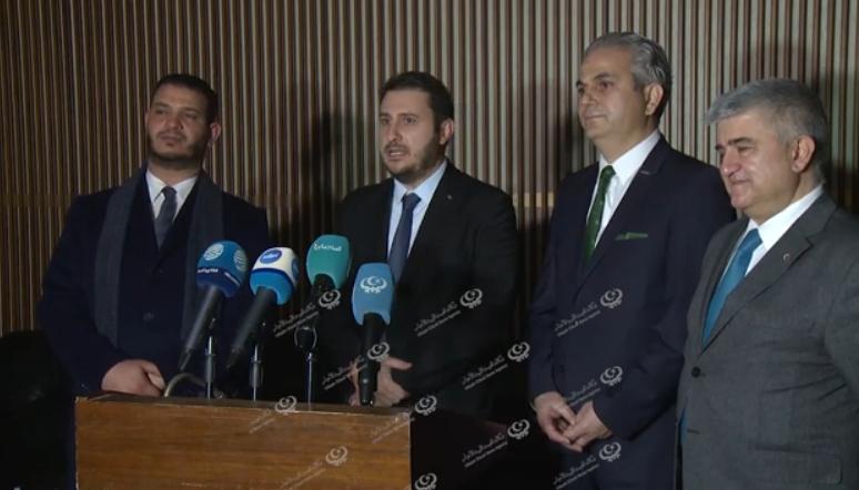Photo of مدير الشركة العامة للإلكترونات يستقبل مدير شركة (هافلسان) التركية والوفد المرافق له