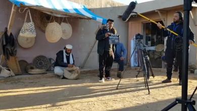Photo of البدء في تصوير حلقات المسلسل الدرامي (زمن الهف) باجدابيا