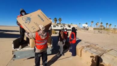 Photo of الهلال الأحمر فرعي غات وأوباري يستلمان الدفعة الثانية من المساعدات الطبية