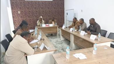 Photo of منظمة الغريفة للعمل الجماعي تناقش برامجها التنموية