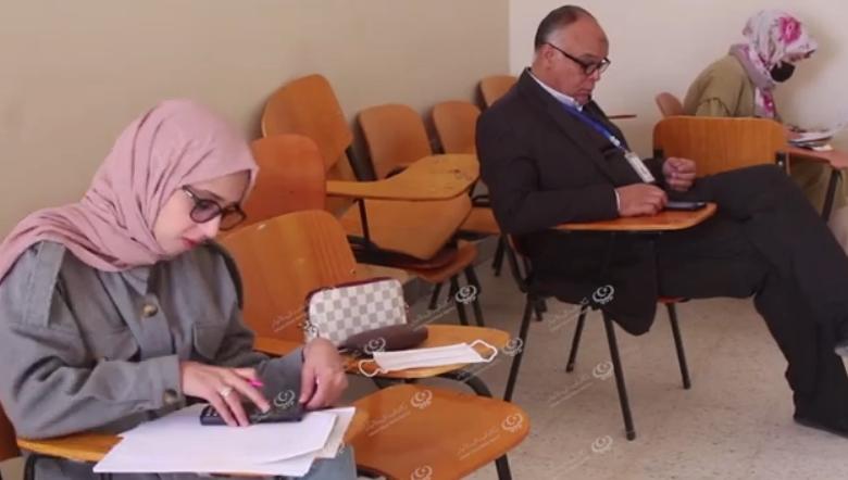 Photo of لجنة خاصة بإدارة صندوق الضمان الاجتماعي تشرف على امتحان توظيف دفعة جديدة بفرع الواحات