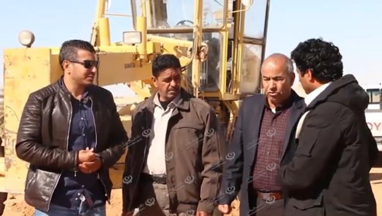 Photo of المجلس التسييري إجخرة يشرع في استكمال مشروع طريق المدخل الشمالي للبلدية