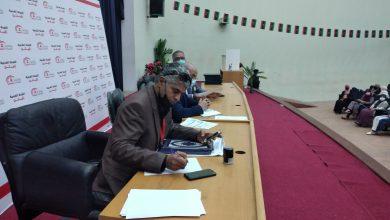 Photo of مراسم تسليم واستلام المجلس المنتخب لبلدية زليتن وأداء القسم القانوني
