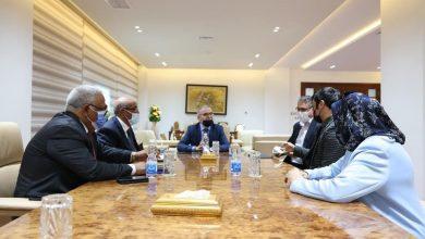 Photo of مجلس إدارة المؤسسة الوطنية للنفط يجتمع بمجموعة (MEST) التركية