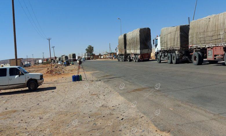 Photo of سرايا الحراسة في بوابة القضامة توقف حركة السير من الشمال نحو الجنوب ومن الشرق إلى الغرب