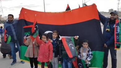 Photo of احتفالات عفوية لأهالي اجدابيا بالذكرى العاشرة لثورة 17 فبراير