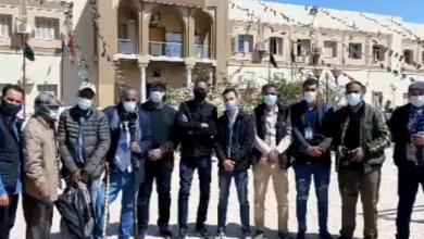 Photo of اعتراض الإعلاميين في سبها على منعهم من تغطية زيارة المجلس الرئاسي المكلف للمدينة