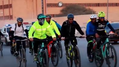 Photo of جولة لهواة الدراجات الهوائية في مدينة بني وليد