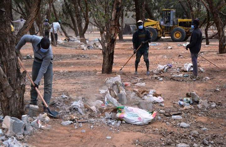 Photo of حملة نظافة تحت شعار (من أجل بيئة نقية) تستهدف غابة الدافنية بمصراتة