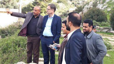 Photo of زيارة السفير الألماني لبلدية شحات