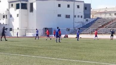 Photo of نجوم اجدابيا يحقق فوزه الأول على حساب شباب الجبل ضمن الدوري الليبي الممتاز لكرة القدم
