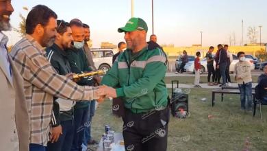 Photo of نادي القادسية ببني وليد يكرم المشاركين في بطولة ليبيا للقوى البدني