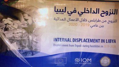 Photo of إطلاق التقرير المشترك لوزارة الدولة لشؤون النازحين والمهجرين والمنظمة الدولية للهجرة