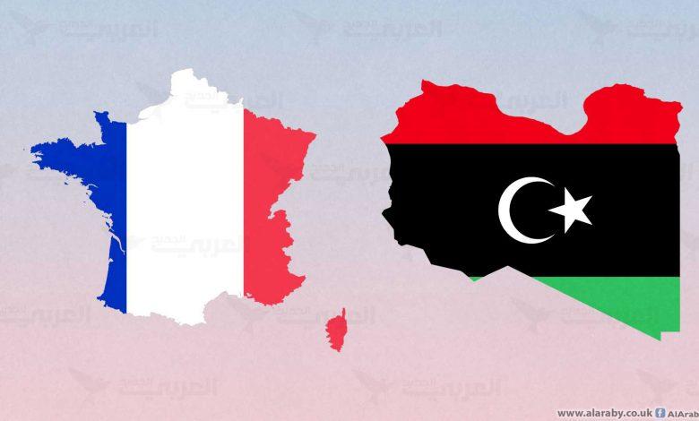 فرنسا وليبيا