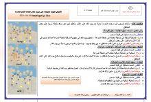 Photo of النشرة الجوية ليوم الجمعة الموافق 09 – 04 – 2021 الصادرة عن المركز الوطني للأرصاد الجوية
