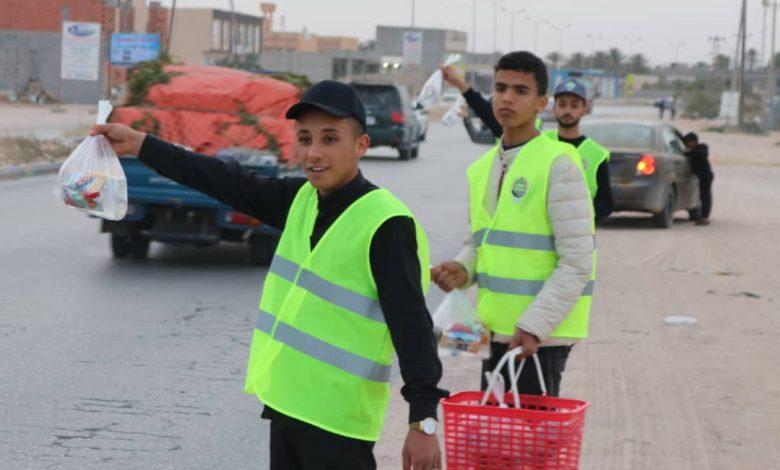 Photo of تواصل حملة إفطار صائم على الطريق الساحلي بزليتن