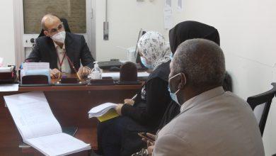 Photo of فريق من منظمة الصحة العالمية يزور مركز زليتن الطبي