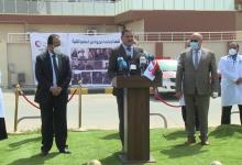 Photo of رئيس حكومة الوحدة الوطنية يُعلن في مؤتمرصحفي انطلاق الحملة الوطنية للتطعيم ضدفيروس(كورونا)