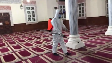 Photo of حملة لتعقيم المساجد بمدينة غدامس مع اكتظاظ المساجد بالمصلين  في صلاة التراويح  هذا الشهر
