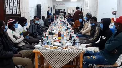 Photo of مأدبة إفطار لعدد من الجاليات الإفريقية بمدينة بني وليد
