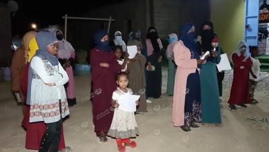 Photo of وقفة احتجاجية لنساء مرزق المهجرات في أوباري مطالبين الحكومات والمنظمات إنهاء أزمة التهجير
