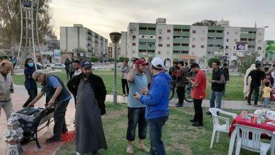 Photo of مائدة إفطار لعدد من المؤسسات ونشطاء المجتمع المدني بزليتن