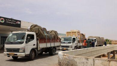 Photo of المؤسسة الوطنية للنفط تسيير قافلة من المعدات الطبية لصالح مستشفى ترهونة التعليمي